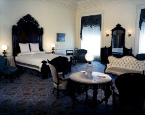 The Lincoln Bedroom was not used for sleeping